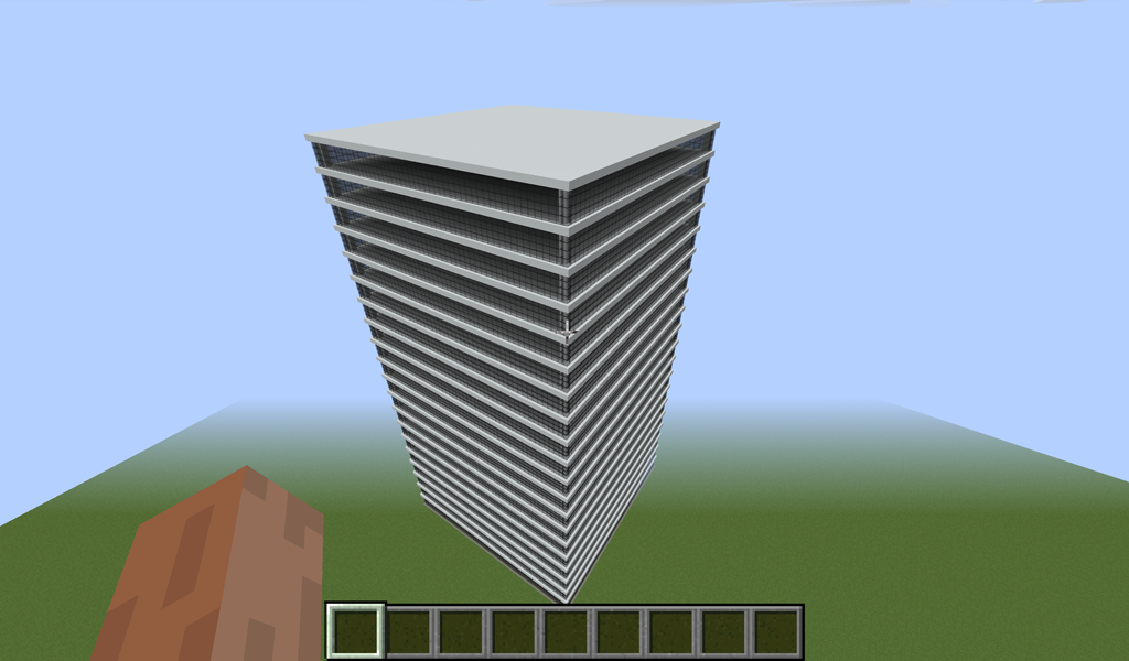 Lav et højhus i Minecraft